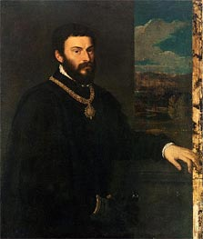 Portrait of Count Antonio Porcia | Titian | Painting Reproduction