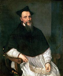 Portrait of Bishop Ludovico Beccadelli | Titian | Painting Reproduction