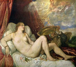 Danae | Titian | Painting Reproduction