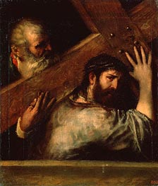 Carrying of the Cross, c.1560/70 by Titian | Painting Reproduction