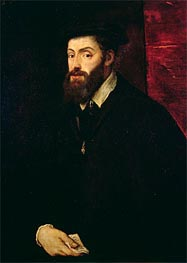 Portrait of Carlos V, c.1549 by Titian | Painting Reproduction