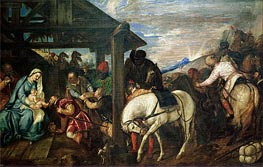 The Adoration of the Magi, c.1561 by Titian | Painting Reproduction