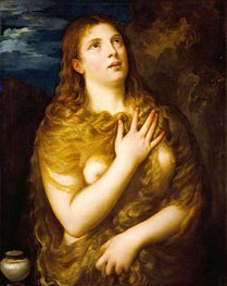 Mary Magdalene, c.1533/35 von Titian | Gemälde-Reproduktion