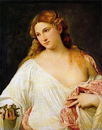 Flora | Titian | Painting Reproduction