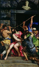 The Crowning with Thorns, c.1540/42 by Titian | Painting Reproduction