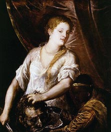 Judith with the Head of Holofernes | Titian | Painting Reproduction