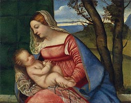 Madonna and Child | Titian | Gemälde Reproduktion