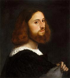 Portrait of a Man | Titian | Painting Reproduction