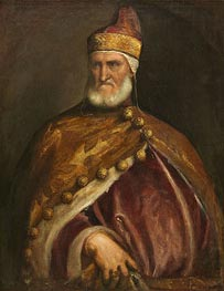Doge Andrea Gritti, c.1546/48 by Titian   Painting Reproduction