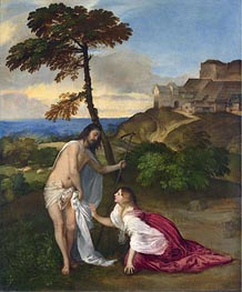 Noli me Tangere, c.1514 by Titian   Painting Reproduction