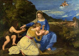 The Aldobrandini Madonna, c.1532 by Titian | Painting Reproduction