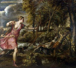 The Death of Actaeon, c.1559/75 by Titian   Painting Reproduction