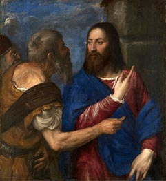 The Tribute Money, c.1560/68 by Titian   Painting Reproduction