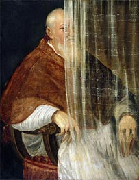 Portrait of Cardinal Filippo Archinto, 1558 by Titian | Painting Reproduction