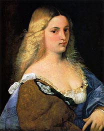Violante, c.1510/15 by Titian | Painting Reproduction
