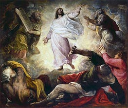 Transfiguration, 1560 by Titian | Painting Reproduction