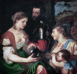 Allegory of Married Life | Titian | Painting Reproduction