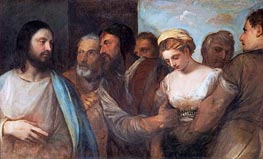 Christ and the Adulteress | Titian | Painting Reproduction