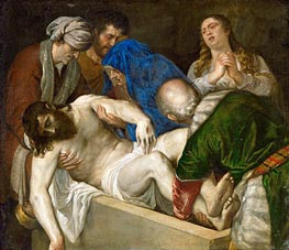 Entombment of Christ | Titian | Painting Reproduction