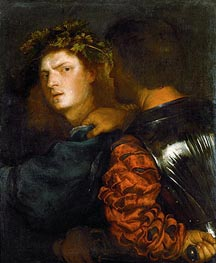 The Bravo (Il Bravo), 1520 by Titian | Painting Reproduction