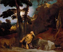 Saint Jerome | Titian | Painting Reproduction