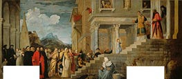 Presentation of the Virgin (Presentation of Mary in the Temple) | Titian | Painting Reproduction