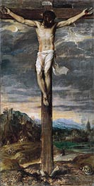Christ on the Cross, c.1555 by Titian | Painting Reproduction
