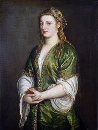Portrait of a Lady | Titian | Painting Reproduction