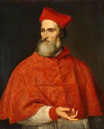 Cardinal Pietro Bembo, c.1540 by Titian | Painting Reproduction