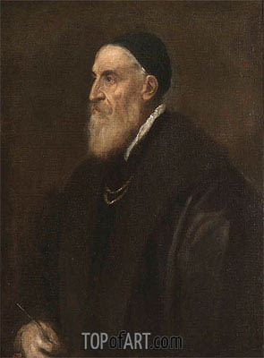 Self Portrait, c.1560 | Titian | Painting Reproduction