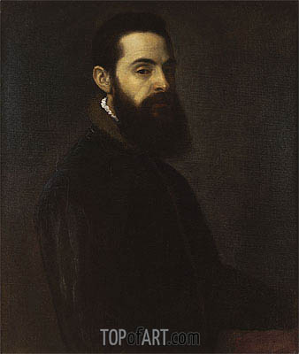 Portrait of Antonio Anselmi, c.1550 | Titian | Painting Reproduction