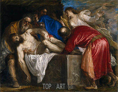 The Burial of Christ, 1559 | Titian | Painting Reproduction