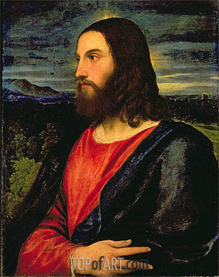 Christ the Redeemer, c.1532/34   Titian   Painting Reproduction