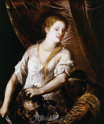 Judith with the Head of Holofernes, c.1570 | Titian | Gemälde Reproduktion