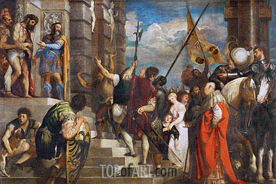 Ecce Homo, 1543 | Titian | Painting Reproduction