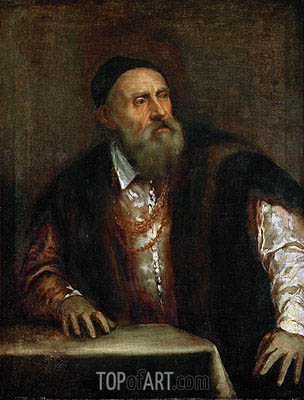 Self Portrait, 1562 | Titian | Painting Reproduction