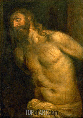 Flagellation of Christ, undated | Titian | Painting Reproduction