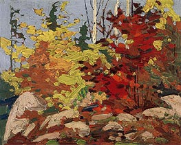 Autumn Scene, c.1916 by Tom Thomson | Painting Reproduction