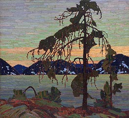 The Jack Pine, c.1916/17 by Tom Thomson | Painting Reproduction