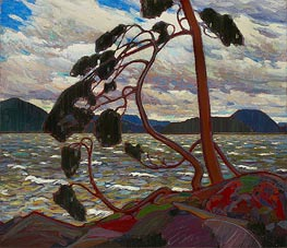 The West Wind, c.1916/17 by Tom Thomson | Painting Reproduction