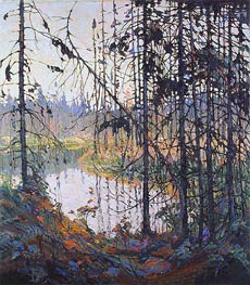 Northern River, 1915 by Tom Thomson | Painting Reproduction
