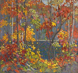 The Pool, c.1915/16 by Tom Thomson | Painting Reproduction
