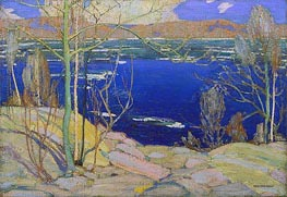 Spring Ice, 1916 by Tom Thomson | Painting Reproduction