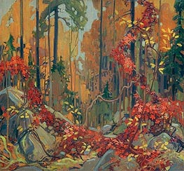 Autumn's Garland, c.1915/16 by Tom Thomson | Painting Reproduction