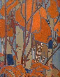 Decorative Panel III | Tom Thomson | Painting Reproduction