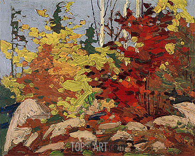 Autumn Scene, c.1916 | Tom Thomson | Painting Reproduction