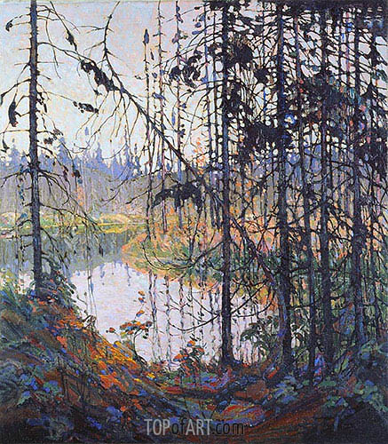 Northern River, 1915 | Tom Thomson | Painting Reproduction