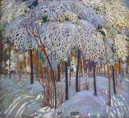Snow in October, c.1916/17 | Tom Thomson | Painting Reproduction
