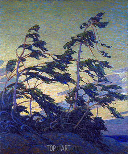 Pine Island, Georgian Bay, c.1914/16 | Tom Thomson | Painting Reproduction