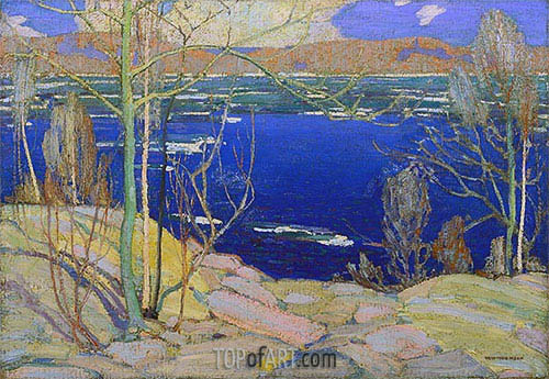 Spring Ice, 1916 | Tom Thomson | Painting Reproduction